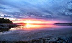 https://flic.kr/p/K4H7Ps | Rainy Sunrise in Maine