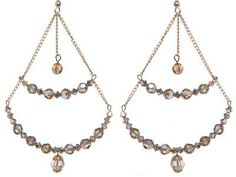 Claire Aristides Chandelier earrings