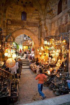 Khan el Khalili market in Cairo, Egypt