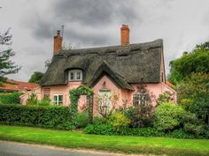 Another storybook pink cottage...
