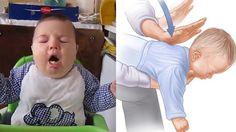 Om en bebis sätter i halsen gäller det att vara snabb, och att ha rätt teknik. Ett tecken på att bebisen satt något i halsen kan exempelvis vara väsande eller anstr&