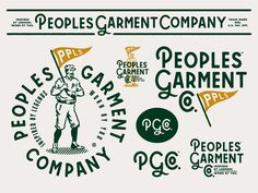 Peoples Garment Company - Branding by Forefathers