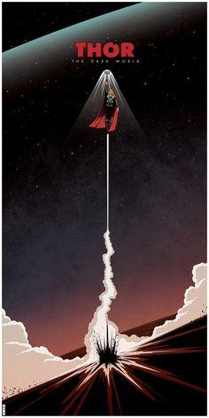 Thor: The Dark World teaser by Matt Ferguson, via Behance