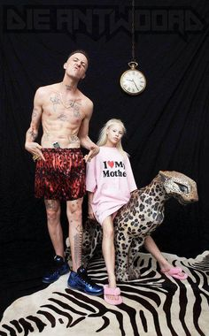 Die Antwoord - Ninja and Yolandi Visser living legends