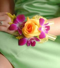 corsage for prom