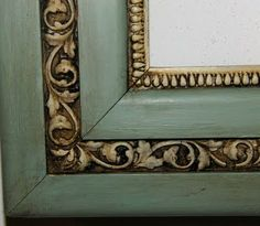 Duck Egg Blue and Old White---Love, love, love this!  Very vintage!