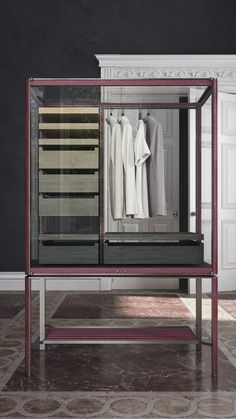 GLASS VALET Wardrobe Rack, Glass, Closet, Furniture, Home Decor, Armoire, Decoration Home, Drinkware, Room Decor
