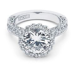 I heart this ring from TACORI! Style no: HT2605RD95