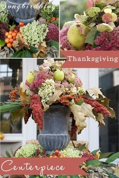 Make a centerpiece for Thanksgiving | eBay
