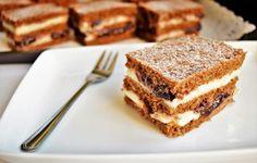 Pentru că este o prăjitură cu gust intens de caramel, a primit denumirea de prăjitura Carmelita. 🙂 Am devenit mare fan al caramelului condensat de la Delatte.ro, poate ați observat că este prezent în majoritatea prăjiturilor mele de câteva luni, dar credeți-mă că este […] Cake Recipes, Dessert Recipes, Desserts, Food Cakes, Tiramisu, Cooking Recipes, Sweets, Caramel, Cookies