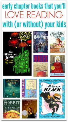 10 chapter books you'll love to read with your kids.