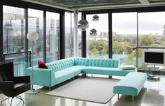 Natalie Lyon: Jam Factory Designer Penthouse Apartment | iDesignArch | Interior Design, Architecture