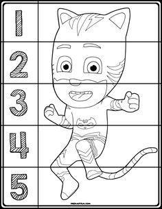 Free printable materials for working on basic number sense skills. Target numbers 1-5 with this simple and effective activity.