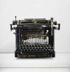 antique remington standard typewriter no.7