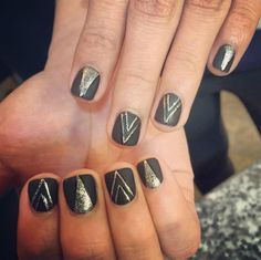 As the new year on the way, So you probably looking for some new nail art inspiration. We bring you the most top rated nail designs from all over the web. #Nail #Designs #2016