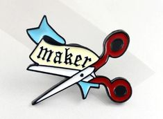 Secret Santa coming up? Got a maker to buy for? Then you need our pin badge Badge Maker, Secret Santa, Pin Badges, Treat Yourself, Swag, Crafting, Stuff To Buy, Style, Secret Pal