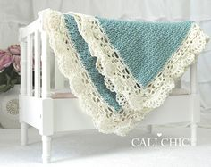 PDF PATTERN of how to make the Claire Baby Blanket. NOT A PHYSICAL BLANKET FOR SALE. ♥ Crochet pattern for the simply elegant Claire baby blanket with intricate edging. It will be a hit as a baby shower gift for new moms, or an heirloom within the family. ♥ Pattern provided makes a