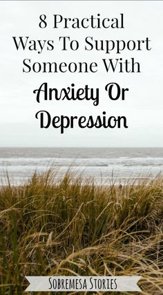 Great tips about supporting people with anxiety or depression from someone who struggles with those things herself!