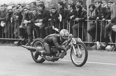 Ferry Brouwer on Bultaco sprinter