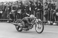 Ferry Brouwer on Bultaco sprinter