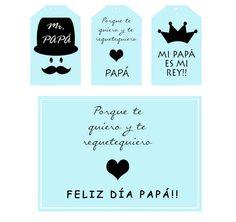 Kit Imprimible Día del Padre  - free
