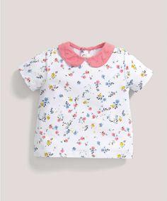 Floral Printed T-Shirt - All Girls - Mamas & Papas
