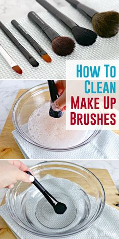 This is the best way to clean makeup brushes! Don't ignore them , cleaning them is actually very easy and helps them last a lot longer! http://www.ehow.com/how_4779487_make-makeup-brush-cleaner.html?utm_source=pinterest.com&utm_medium=referral&utm_content=freestyle&utm_campaign=fanpage