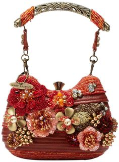 Mary Frances Blaze Of Glory Evening Bag,Multi,One Size Unique Handbags, Unique Purses, Purses And Handbags, Vintage Purses, Vintage Bags, Vintage Handbags, Mary Frances Purses, Mary Frances Handbags, Beaded Purses