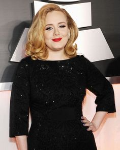 Adele looked so lovely at this year's Grammy's