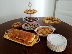 Seven kinds of cookies/cake - Swedish traditional concept