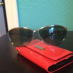 Emporio Armani sun glasses Excellent condition shades with gray/green colored lenses Emporio Armani Accessories Glasses
