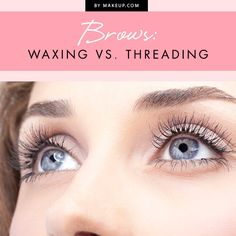To wax or to thread? That is the question. We've broken down everything you need to know about each of these practices for keeping up with your eyebrows!