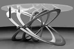 Orbis 014 un pò tavolo un pò astrolabio ispirato ai movimenti planetari. Il nuovo concept di officina in anteprima per il 2014