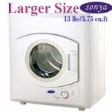 #7: Sonya Portable Compact Laundry Dryer Apartment Size 110V 13lbs/3.75 cu.ft.-larger size