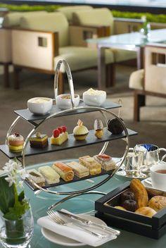 Afternoon tea at the Intercontinental Hong Kong