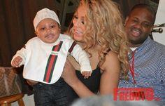 Tamar Braxton with baby