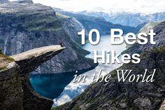 10 Best Hikes World