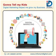 With Digital marketing Services at INFOMART You will be able to Proudly tell your Children that you were able to grow your Business by Promoting your Brand online For Appoinment 📞 80809 20709 Marketing Meme, Online Marketing, Building Companies, Brand Building, Digital India, My Children, Kids, Help Me Grow, Digital Marketing Services