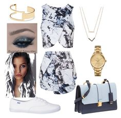 """That Color Blue"" by amourb on Polyvore featuring Topshop, Miu Miu, Michael Kors, Lacoste and Sole Society"