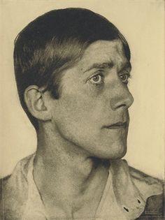 Oskar Kokoschka, 1920 [by Hugo Erfurth].  www.artexperiencenyc.com