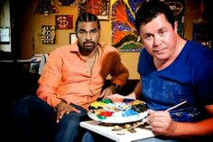 Art with attitude as Wheat meets Haye