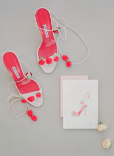 colorful shoes and illustration | Photography: Peter and Veronika