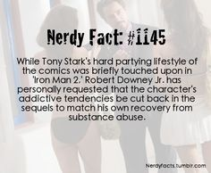 Tony Stark - Robert Downey Jr Fact - Iron Man 2