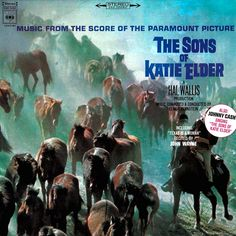 """""""The Sons Of Katie Elder"""" (1965, Columbia).  Selections from the movie soundtrack."""