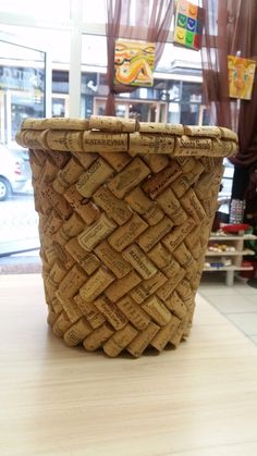 Simple, elegant and handmade, this basket will be useful everywhere in your interior. Size: 7 x 9.5 x 5 (H) inches