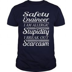 AWESOME TEE FOR SAFETY ENGINEER T Shirts, Hoodies, Sweatshirts. GET ONE ==> https://www.sunfrog.com/LifeStyle/AWESOME-TSHIRT-AND-HOODIE-FOR-SAFETY-ENGINEER-Navy-Blue-Guys.html?41382