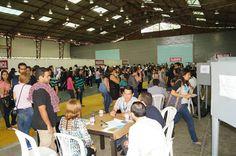 Las mesas directivas en  #EleccionesUCSG #UCSG #Voto2015UCSG #ColiseoUCSG