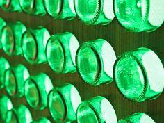Heineken bottle light/wall art light.