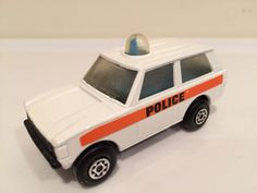 Vintage Matchbox Lesney Land Rover Range Rover Police #20 Mint Solid stripe #Matchbox #LandRover