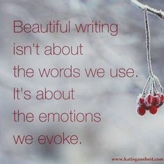 Beautiful writing isn't about the words we use. It's about the emotions we evoke. Writing tips, tips for writers, writing advice, advice for writers, how to write Writing Advice, Writing Help, Writing A Book, Writing Prompts, Fiction Writing, Writing Ideas, Book Quotes Love, Writer Quotes, Quotes On Writing
